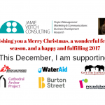 This year's charities and causes