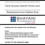 Podcast: employment law update with Jay Bhayani and more