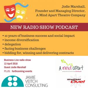 Image: business live radio show 130418