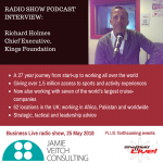 """""""Kings"""" of the holiday sport camp: Richard Holmes interview"""
