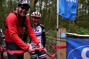 Steve Peat and Annie Last