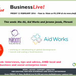 Interviews: Phrooti and Aid Works