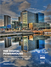Tech North's Digital Powerhouse report cover