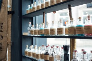 Photo of potions at Grimm and Co