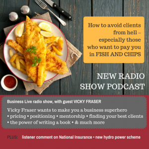 Image for podcast of Business Live radio show featuring Vicky Fraser