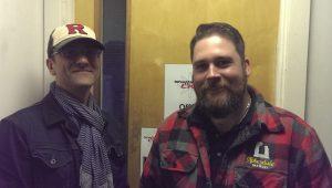 Photo of Justin Rowntree and Dan Baxter