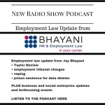 Taylor review, vaping and prison for data deletion: employment law update podcast