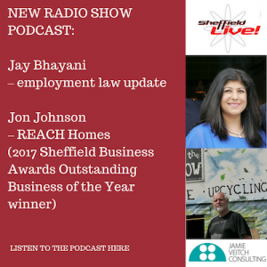Business Live 8 December 2017 featuring Jay Bhayani and Jon Johnson