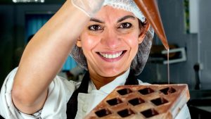 Mona Shah, chocolatier and co-founder of Harry Specters