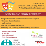 Jodie Marshall, A Mind Apart Theatre Company – interview
