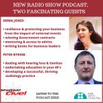 Emma Jones, SME Crown Representative and Peter Byrom, audiologist – new podcast