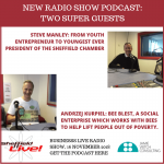 Interviews: Andrzej Kurpiel and Steve Manley – bees, social and youth enterprise