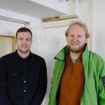 Rob Cole, Sheffield Sustainable Kitchens and Al Daw, Sidney and Matilda