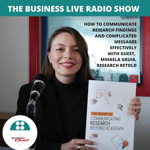 Business Live 15 Feb 2019 with Mihaela Gruia