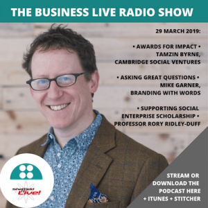 BUSINESS LIVE RADIO SHOW 29 MARCH 2019