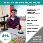 Neil Ellis, Skateboard England – new radio show