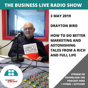 Business Live podcast with Drayton Bird and Jamie Veitch