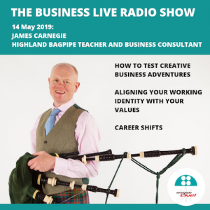 Business Live featuring James Carnegie