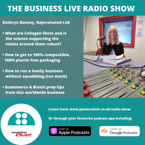 Kathryn Danzey on the Business Live radio show