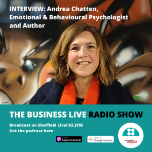 Andrea Chatten on the Business Live radio show and podcast