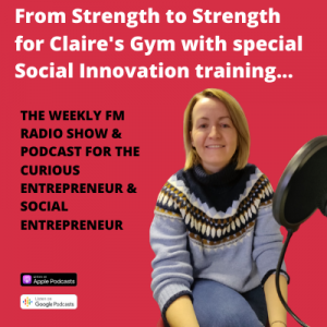 Claire Moore on the Business Live radio show