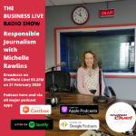 The power of responsible journalism with Michelle Rawlins