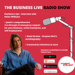 Resilience with Helen Williams, business and social enterprise support and a corker of a book review