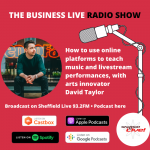How to use online platforms to teach music and livestream performances – David Taylor interview