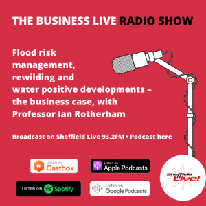Ian Rotherham on Business Live radio show