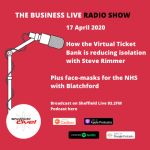 How the Virtual Ticket Bank is reducing isolation plus face-masks for the NHS with Blatchford