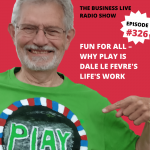 Fun for all with Dale Le Fevre, New Games